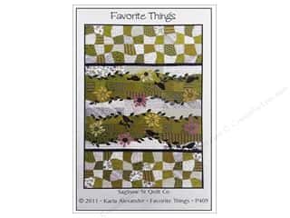 Quilt Company, The: Saginaw Street Quilt Company Favorite Things Pattern