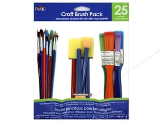 craft & hobbies: Plaid Craft Brush Pack 25 pc.