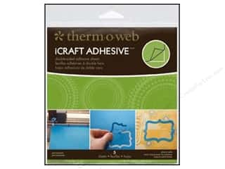 Therm O Web: Therm O Web iCraft Easy Cut Adhesive Sheets 5 3/4 in. 5 pc.