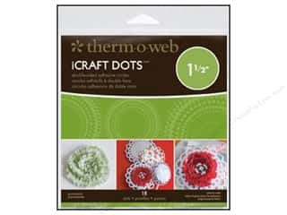 Therm O Web Permanent SuperTape : Therm O Web iCraft Adhesive Dots 1 1/2 in. 18 pc. (4 packages)