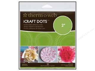 Therm O Web Permanent SuperTape : Therm O Web iCraft Adhesive Dots 2 in. 16 pc. (4 packages)