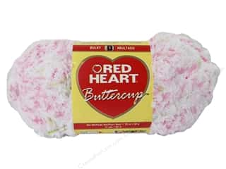 Clearance Red Heart Pomp A Doodle Yarn: Red Heart Buttercup Yarn #4930 Cutie Pie 72 yd.