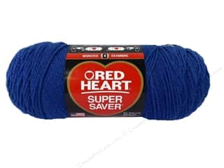 Red Heart Super Saver Yarn 364 yd. #3945 Blue Suede