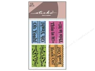 scrapbooking & paper crafts: EK Sticko Stickers Functionality Index Tabs Is It