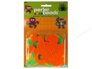 beading & jewelry making supplies: Perler Small Animal Pegboards 4 pc.