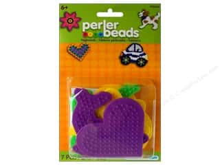 beading & jewelry making supplies: Perler Small Fun Shaped Pegboards 5 pc.