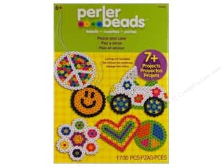 beading & jewelry making supplies: Perler Fused Bead Kit Peace And Love 1700pc