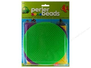 beading & jewelry making supplies: Perler Large Basic Shapes Pegboards 5 pc.