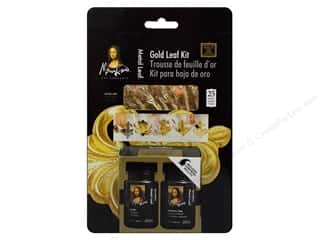 projects & kits: Mona Lisa Gold Leaf Kit 23 Karat Kit