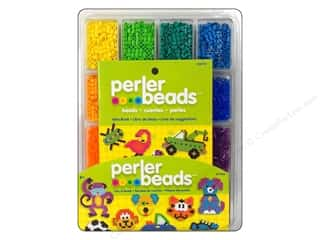 beading & jewelry making supplies: Perler Bead Tray with Idea Book