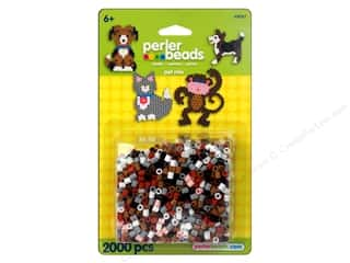 beading & jewelry making supplies: Perler Beads 2000 pc. Pet Mix