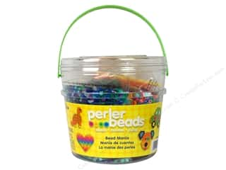 beading & jewelry making supplies: Perler Activity Bucket Bead Mania