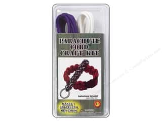 beading & jewelry making supplies: Pepperell Parachute Cord Bracelet Kit
