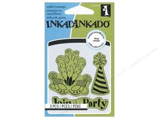 Inkadinkado InkadinkaClings Rubber Stamp Mini Party Icons