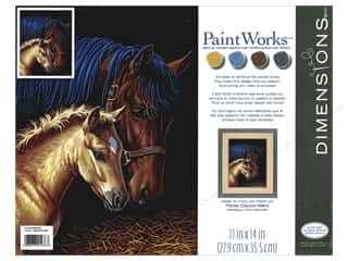 Paintworks Paint By Number Kit 11 x 14 in. Gentle Touch