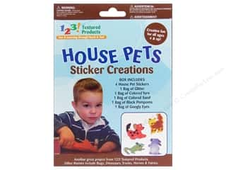 Weekly Specials Collection Kit: Textured Products 123 Sticker Creations House Pets