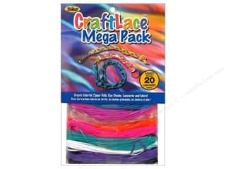 craft & hobbies: Toner Craft Lace Mega Pack Neon