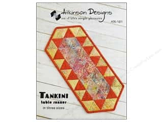 Table Runners / Kitchen Linen Patterns: Atkinson Designs Tankini Table Runner Pattern