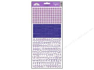 stickers  cardstock: Doodlebug Stickers Cardstock Teensy Type Lilac