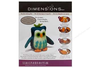 Weekly Specials Needle Felting: Dimensions Needle Felting Kits Owl