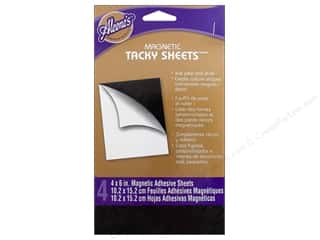 Aleene's: Aleene's Magnetic Tacky Sheets 4 x 6 in. 4 pc.