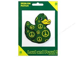 Clearance C&D Visionary Patches: C&D Visionary Applique Ducks Peace Duck
