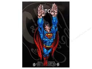 Clearance C&D Visionary Patches: C&D Visionary Applique Superman Fly