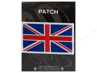 C&D Visionary Applique Flags British Flag