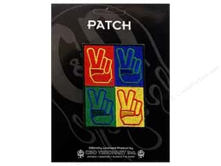 Clearance C&D Visionary Patches: C&D Visionary Applique Peace Signs 4 Peace