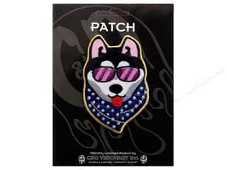 Clearance C&D Visionary Patches: C&D Visionary Applique Dogs Cool Dog