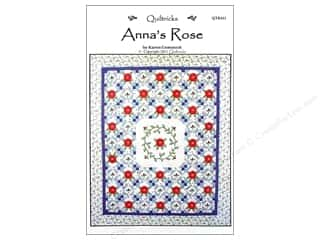 books & patterns: Quiltricks Anna's Rose Pattern