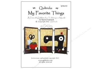 Patterns Clearance: Quiltricks My Favorite Things Pattern