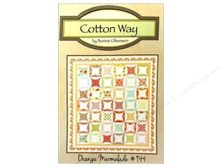 Cotton Way: Cotton Way Orange Marmalade Pattern