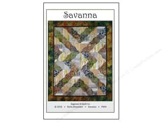Quilt Company, The: Saginaw Street Quilt Company Savanna Pattern