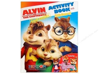 Bendon Activity Book with Stickers Alvin & Chipmunks