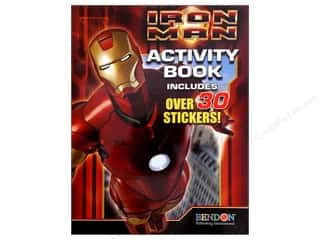 Bendon Publishing: Bendon Activity Book with Stickers Iron Man