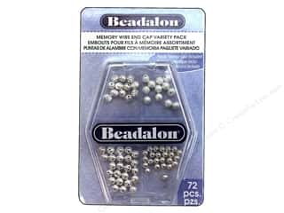Cap  Findings / Spacer Findings: Beadalon Memory Wire End Cap Variety Pack 72 pc.