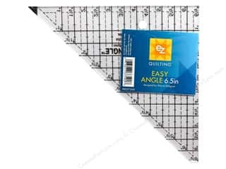 ruler: EZ Quilting Easy Angle Acrylic Template 6 1/2 in.