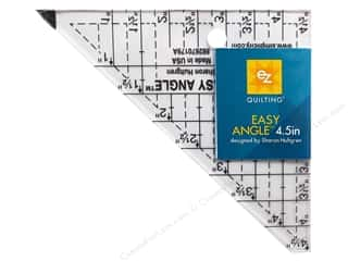 ruler: EZ Quilting Easy Angle Acrylic Template 4 1/2 in.