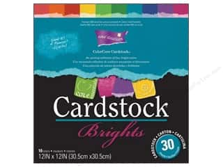 Weekly Specials Scrapbooking Organizers: Coredinations Cardstock Pack 12 x 12 in. ColorCore Brights