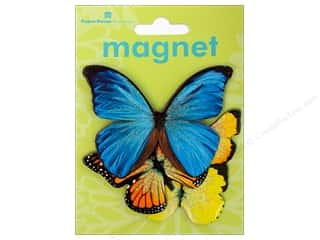 Clearance Paper House Magnet: Paper House Magnet 3D Butterflies