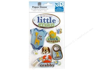 scrapbooking & paper crafts: Paper House 3D Stickers - Little Man