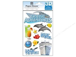 Paper House Sticker 3D Cruise
