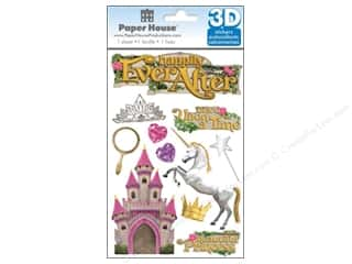 scrapbooking & paper crafts: Paper House Sticker 3D Happily Ever After