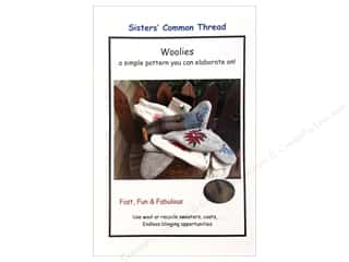Wool Felt & Felting Patterns: Sisters' Common Thread Woolies Pattern