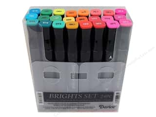 Crafter's Companion: Crafter's Companion Spectrum Noir Pen Set Brights 24pc