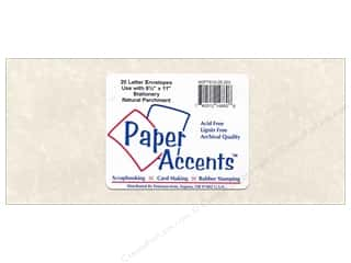 Paper Accents 4 x 9 1/4 in. Letter Envelopes 20 pc. #203 Parchment Natural