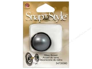 Clearance Cousin Snap In Style Accent: Cousin Snap In Style Accent Glass Pearl Grey