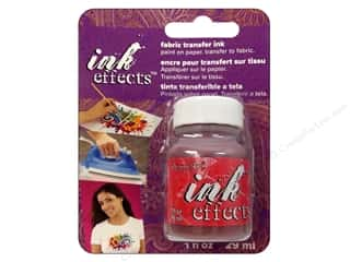 Decoart Ink Effects Fabric Transfer Ink 1 oz. Red