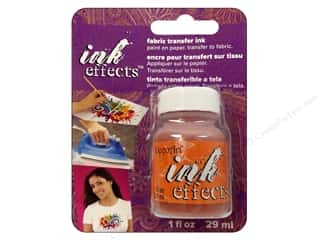 Decoart Ink Effects Fabric Transfer Ink 1 oz. Orange